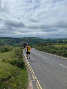 Stu heads into the splendor of the Dartmoor countryside