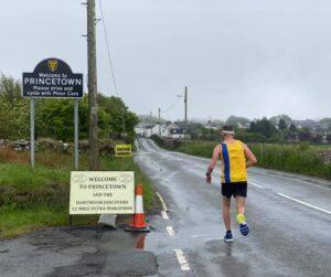 Stu Glenister enters Princetown