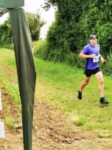 Alex Goulding in the Dorset Conquest Half Marathon