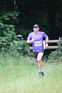 Alex in action in the Dorset Conquest Half Marathon