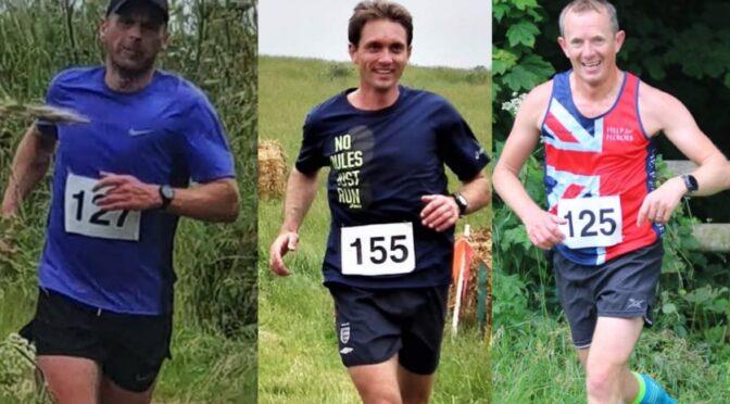 Mission accomplished for BAC trio at Dorset Conquest Half Marathon