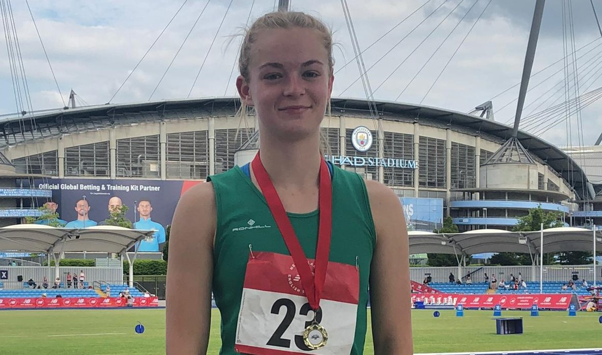 BAC golden girl Amelia Verney victorious in English Schools 200m