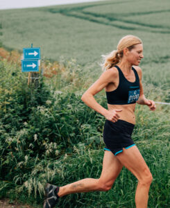 Emma Caplan in the Maverick Hampshire 'Middle' distance race
