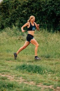 Emma Caplan in the Maverick Hampshire 16k race