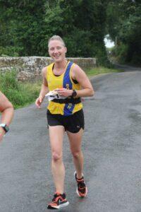 Estelle Slatford in action in the Puddletown Plod Half Marathon