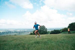 Jacek Cieluszecki in the Maverick Frontier Chilterns 'Middle' distance race