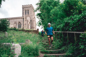 JC featuring in the 'Middle' distance race at the Maverick Frontier Chilterns