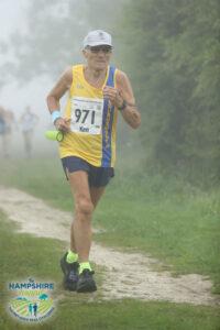 Ken Parradine in the Hampshire Hoppit Marathon