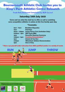 King's Park Athletics Centre Relaunch