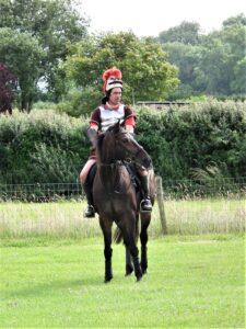 Knight on horse at the Dorset Conquest Half Marathon