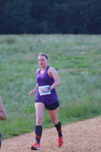 Nikki Whittaker in the Upton Summer Series, Race 2