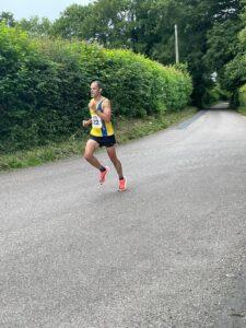 Rich Brawn in the Puddletown Plod Half Marathon
