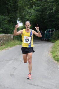 Rich Brawn poses in the Puddletown Plod Half Marathon