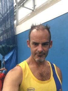 Rich Brawn at the Puddletown Plod Half Marathon