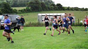 Start of the Dorset Conquest Half Marathon