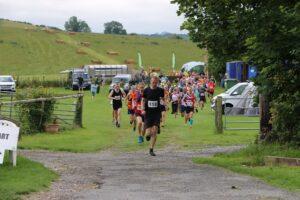 The Dorset Conquest Half Marathon gets underway