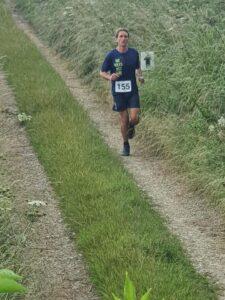 Steve Ross in the Dorset Conquest Half Marathon