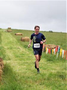 Steve Ross in action in the Dorset Conquest Half Marathon