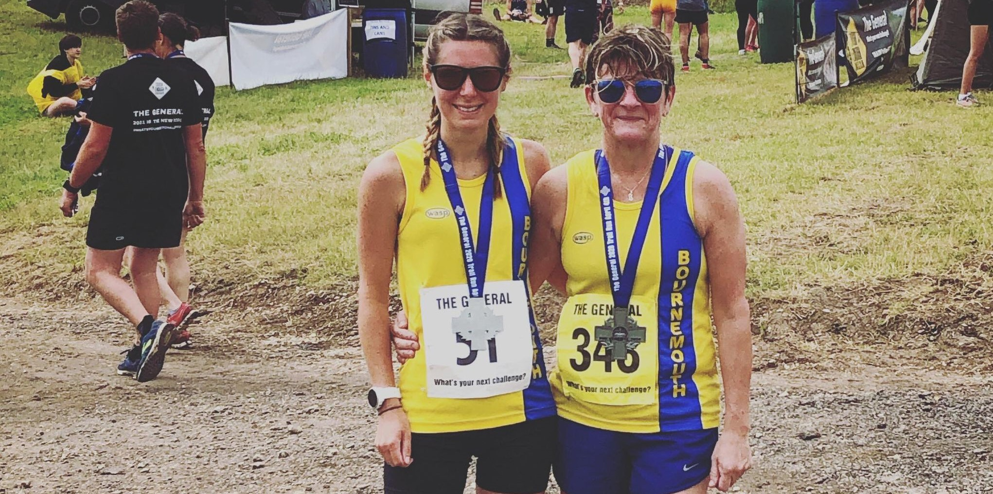Tamzin and Lou tackle The General 10k Trail Run