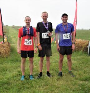 The top three at the Dorset Conquest Half Marathon