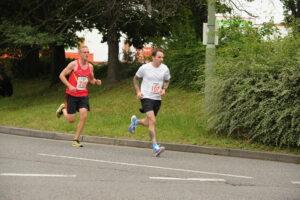 Adam Corbin going well in the Eastleigh 10k