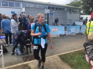 Anna Trehane after the RAT Black Route 50k