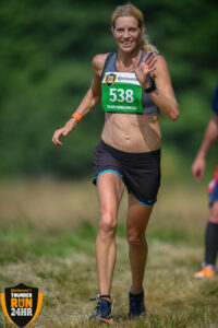 Emma Caplan in action at Thunder Run 24 Hour