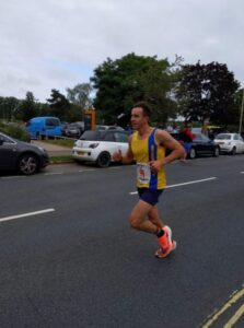 Harry Smith in the Eastleigh 10k