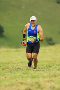 Paolo De Luca in the Summer Larmer Marathon
