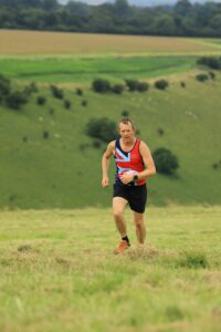 Stu Glenister in the Summer Larmer 8 Mile