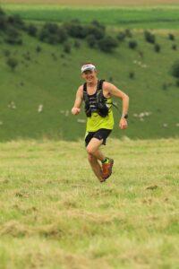 Stu Glenister in the Summer Larmer Marathon