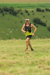 Stu Glenister taking on the Summer Larmer Marathon