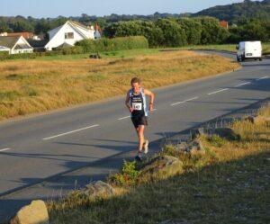 Geoff Scott in the West Coast 5k in Guernsey