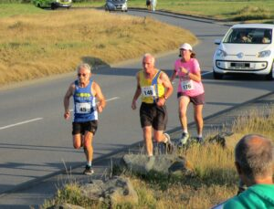 Ian Graham in the West Coast 5k in Guernsey