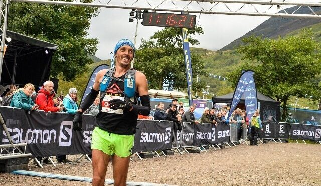 JC goes in for second course at Three Mealls Trail Race 18K
