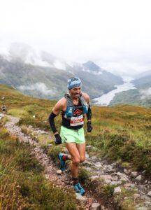 Jacek Cieluszecki in the Three Mealls Trail Race