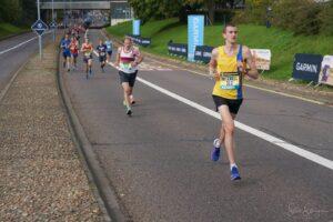 Mitch Griffiths in the Brighton Marathon