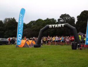 Start of the Shere Half Marathon