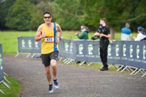 Chris O'Brien in action at the Romsey 5