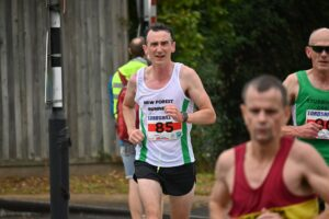 Christy Murphy in the Lordshill 10k