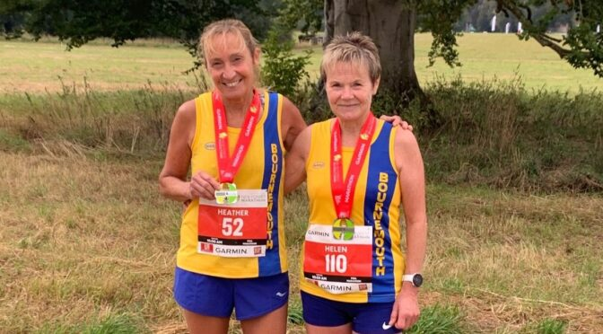 BAC members make their mark at New Forest Marathon