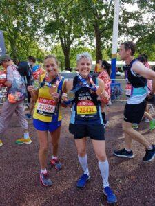Heather Khoshnevis and Sarah Swift celebrate