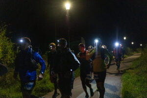 The North Coast 100 runners set off on their way