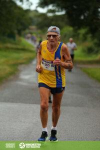 Ken Parradine in the Winchester Half Marathon