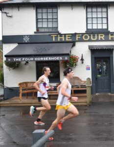 Rob McTaggart in the Lordshill 10k
