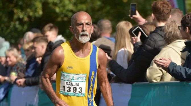 Sanjai goes for GFA time in Chester Marathon