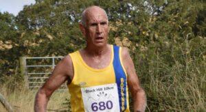 Simon Hunt in the Black Hill 10k