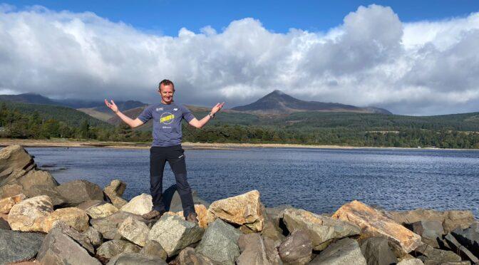 Stu Glenister goes large in Ultra Tour of Arran