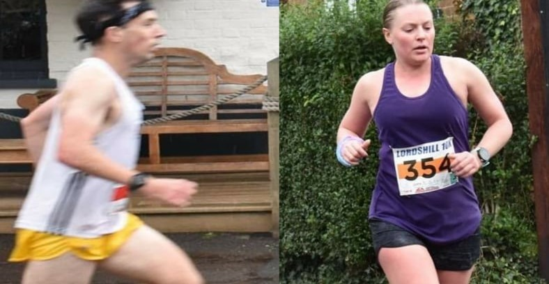 Tag and Nikki let loose at Lordshill 10k