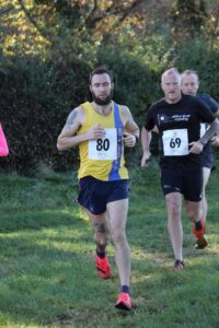 Trev Elkins in action in the Race for the Chase 10k